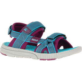 Kamik Match Sandals Children pink/turquoise